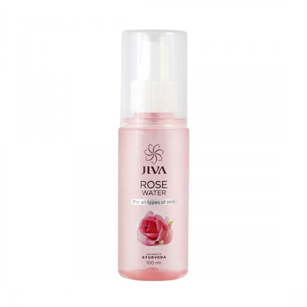 JIVA ROSE WATER - 100ML - FOR ALL TYPES OF SKIN