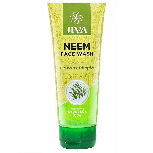 JIVA NEEM FACE WASH - 100G - PREVENTS PIMPLE