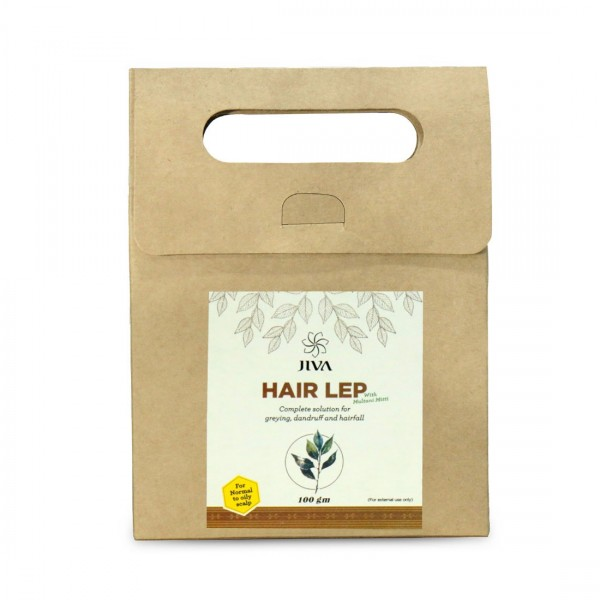 JIVA HAIR LEP - 100GM. - WITH MULTANI MITTI