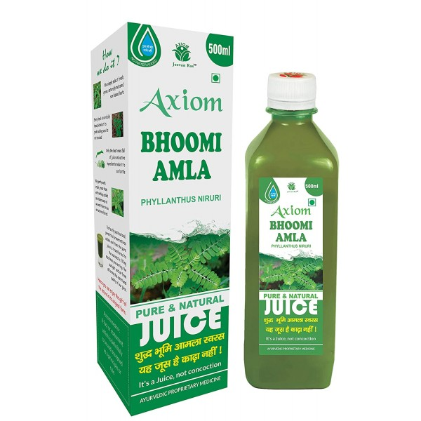 AXIOM BHOOMI AMLA JUICE 500 ML