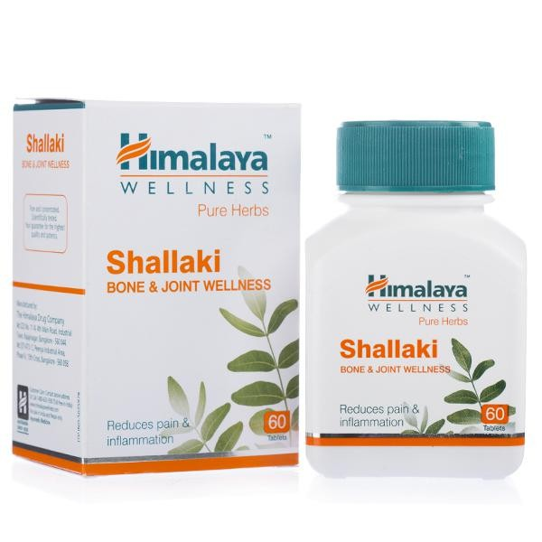 HIMALAYA SHALLAKI TABLETS - 60 TABLETS - BONE & JOINT WELLNESS