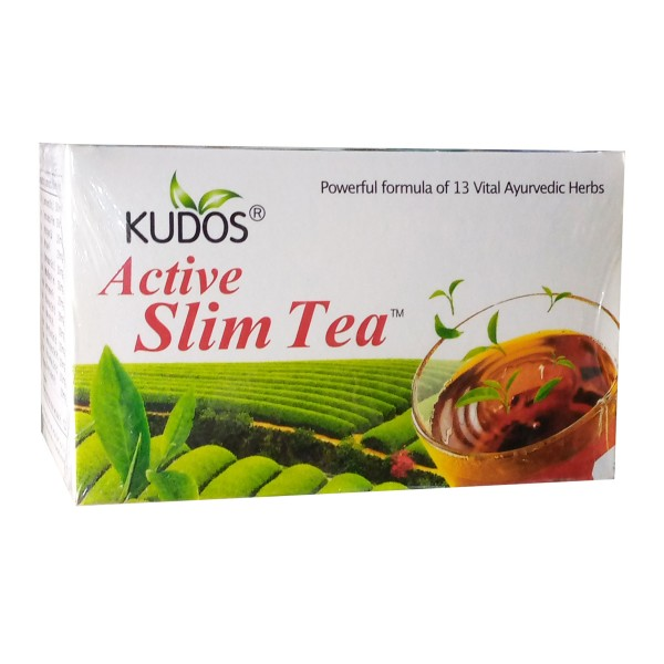 KUDOS ACTIVE SLIM TEA - 30 TEA-BAGS OF 2G EACH.
